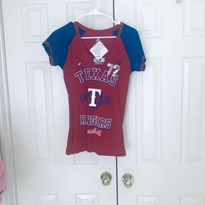 Brand New Texas Rangers Top
